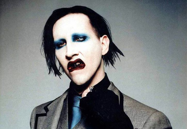 "Manson le dedicó el tema ""Disposable Teen"". (filtermexico.com)"
