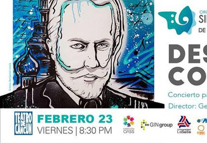 El concierto tendrá lugar mañana en el Teatro de Cancún. (Faride Cetina/SIPSE)