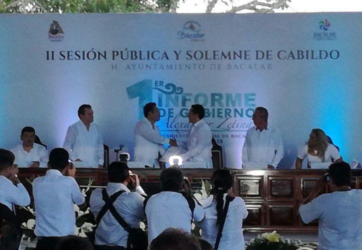 Al evento asistió como invitado especial el gobernador del estado, Carlos Joaquín González. (Javier Ortiz/SIPSE)