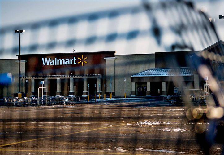 Fotografía de Wal-Mart de Hayden, Idaho, donde el niño mató a su madre accidentalmente, este 30 de diciembre de 2014. (Foto: AP)
