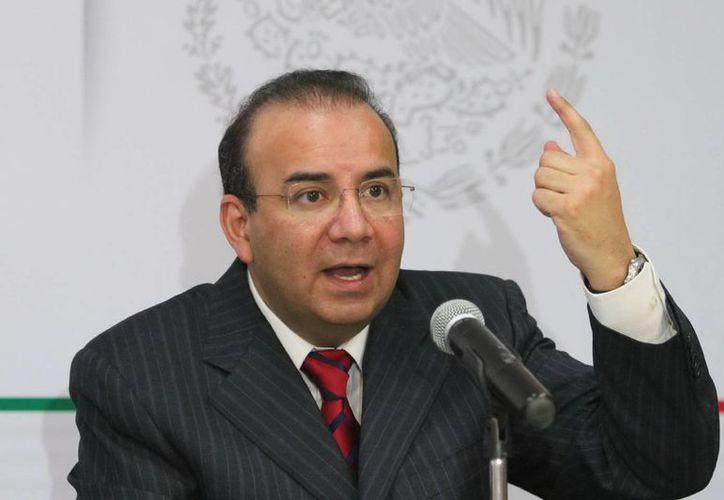 Alfonso Navarrete Prida explicó que el tema es delicado y la dependencia a su cargo está obligada a intervenir. (Notimex)