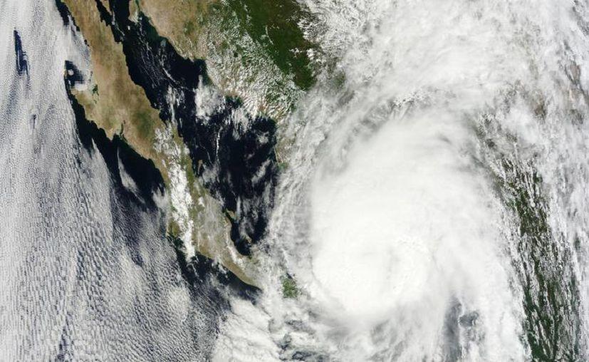 'Manuel' tiene vientos máximos sostenidos de 120 km/h. (Imagen: Nasa)