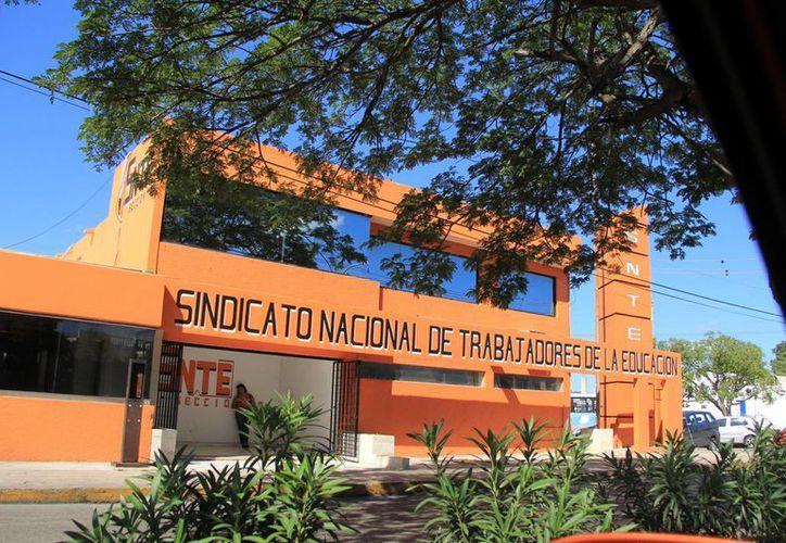 Instalaciones del Sindicato de Trabajadores de la Educación. (Milenio Novedades)