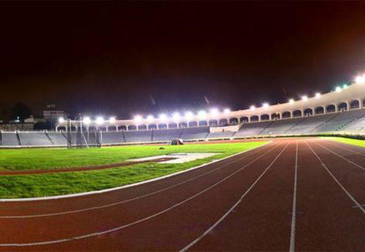En estas instalaciones se realizarán las pruebas de atletismo durante los XXII Juegos Centroamericanos y del Caribe, del 14 al 30 de noviembre próximo. (EFE)