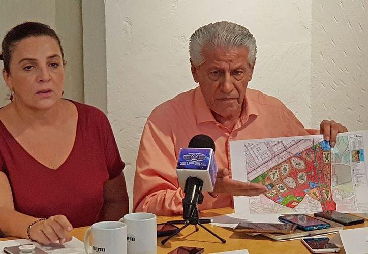 Pobladores señalan que con el PDU se pretende seguir construyendo plazas comerciales y franquicias internacionales. (Verónica Fajardo/SIPSE)