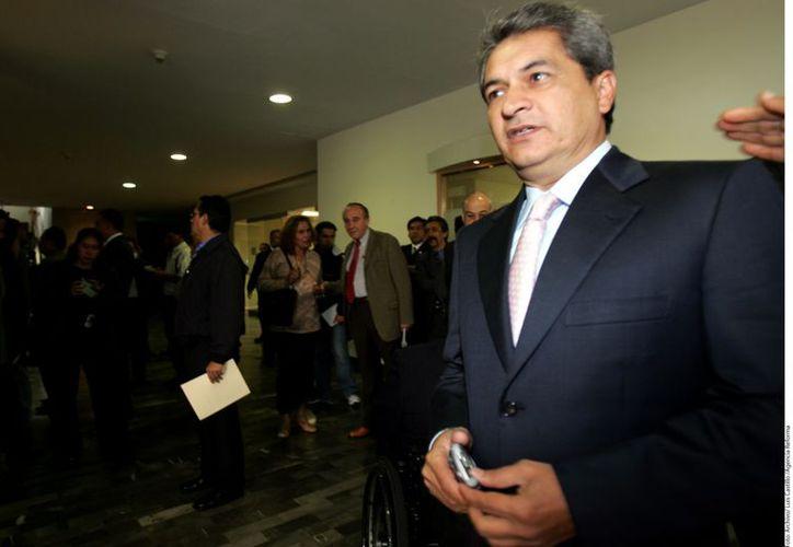 El ex gobernador denunció la semana pasada a Marisela Morales, ex titular de la PGR. (Reforma)