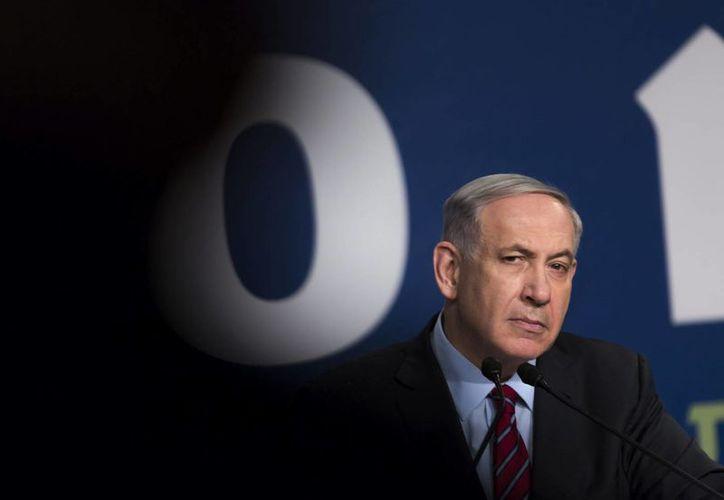 Benjamin Netanyahu se dijo insatisfecho con la eliminación de Hamás de la lista de organizaciones terroristas. (EFE)
