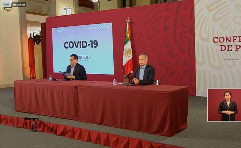 El subsecretario de Salud, Hugo López-Gatell, reconoció que son muchos más los casos reales de Coronavirus que los registrados. (Foto: Ssa).