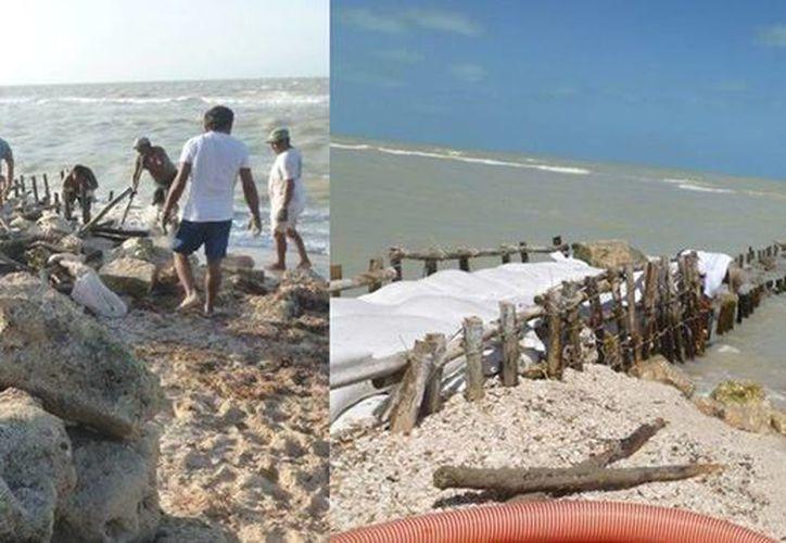 Personal de Profepa retiró las estructuras; se espera una recuperación paulatina de los sitios afectados. (profepa.gob.mx)