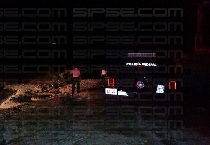 Las personas fueron baleadas en la playa conocida como 'El Mirador'. (Foto: Contexto/SIPSE)