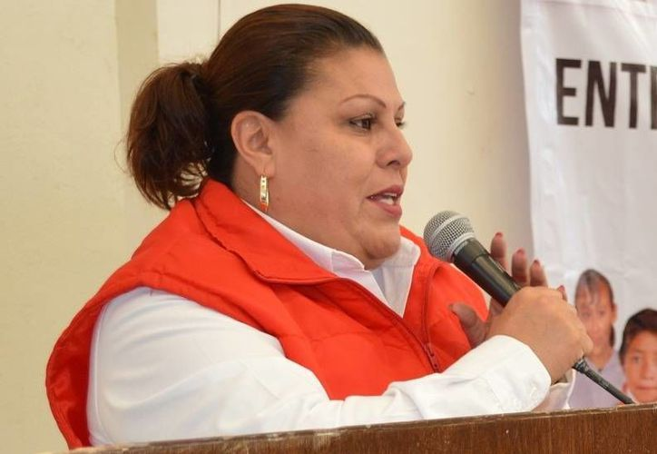La dirigente del PRI hidrocálido, Norma Esparza, denuncia actos de guerra sucia por parte del Partido Acción Nacional. (noticieroelcirco.mx)