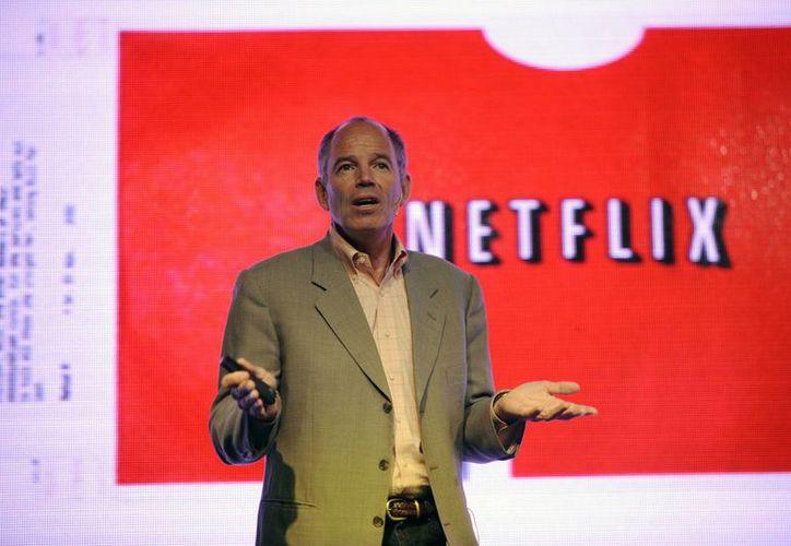 En la imagen, Marc Randolf, cofundador de Netflix, la empresa que está generando recelo de los operadores de cable en Latinoamérica y EU. (Archivo/EFE)