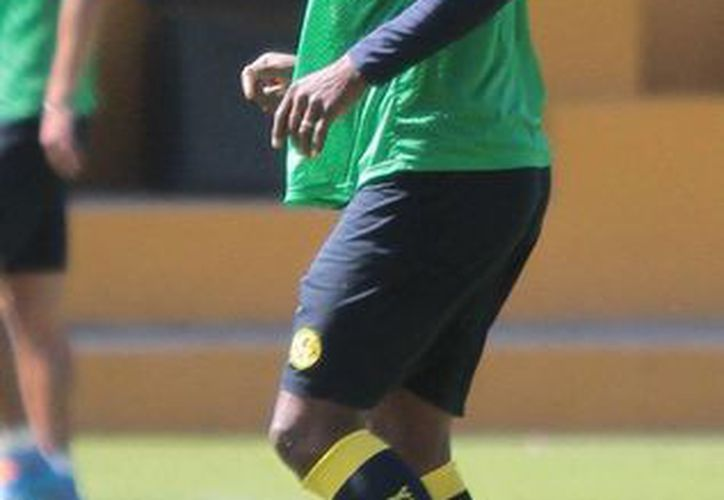 El capitán americanista Aquivaldo Mosquera se quedará con las ganas de final el Mundial en Brasil con la selección de Colombia. (Notimex)