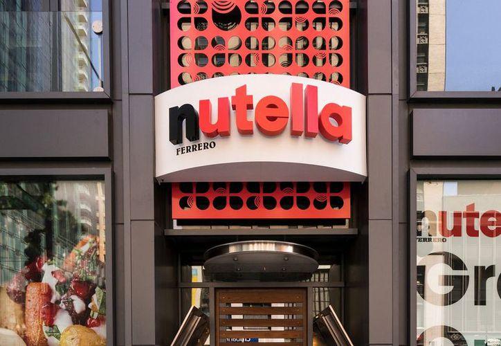 El diseño simula ser un bote del famoso empaque de Nutella. (Foto: Contexto/Internet)