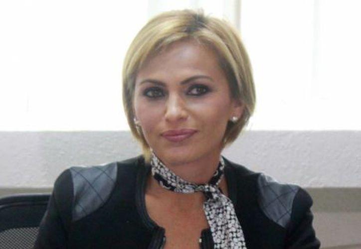 Sara Latife Ruiz Chávez, delegada de la Profeco en Quintana Roo. (Israel Leal/SIPSE)