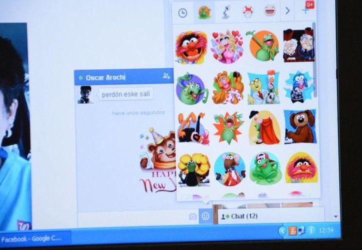 México es el tercer país en uso del Messenger, con más de tres millones de cuentas activas. (Victoria González/SIPSE)