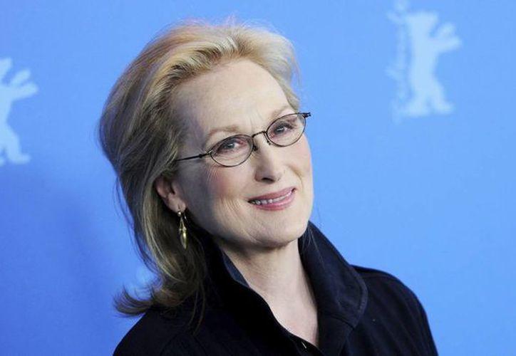 """La actriz estadounidense Meryl Streep posa durante el pase gráfico de la película """"La Dama de Hierro"""". (EFE/Archivo)"""