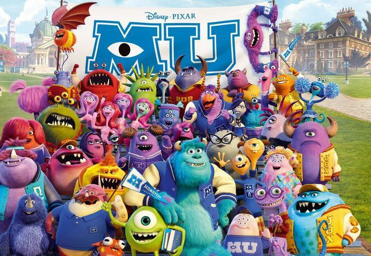 "La cinta ""Monsters University"" regresa a los años de juventud de sus monstruos protagonistas. (Internet)"