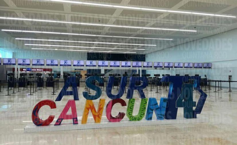 La situación en Terminal 4 se encuentra completamente normalizada. (Archivo/ SIPSE)
