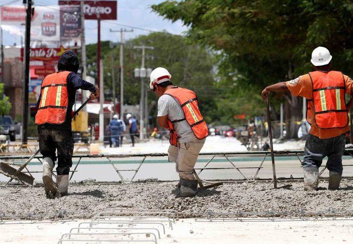La repavimentación de la avenida Prolongación Montejo estará lista a mediados del mes de septiembre. (SIPSE)