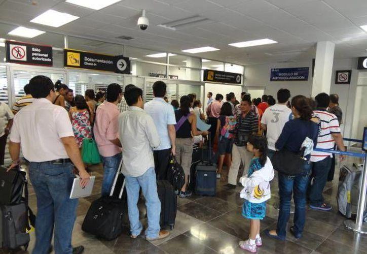Los aeropuertos de Campeche, Chetumal, Nogales, Ciudad Obregón y Colima, registraron mayor actividad. (Archivo/SIPSE)