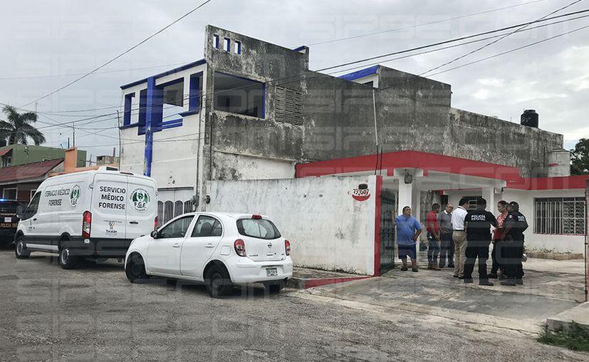 En este predio del barrio de Ssan Sebastián ocurrió la tragedia. (Victoria González/SIPSE)