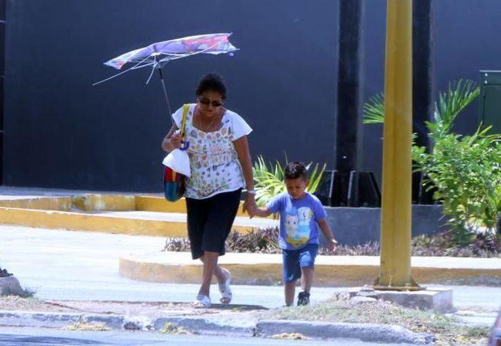Aunque se pronostica que esta semana también sea muy calurosa en Yucatán, también se esperan lluvias de ligeras a moderadas en la mayor parte de los tres estados de la Península. (Milenio Novedades)