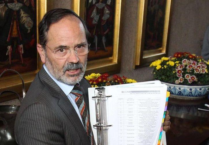 Madero señaló que el PAN en el senado aspira a ser la bancada más transparente. (Archivo/Notimex)