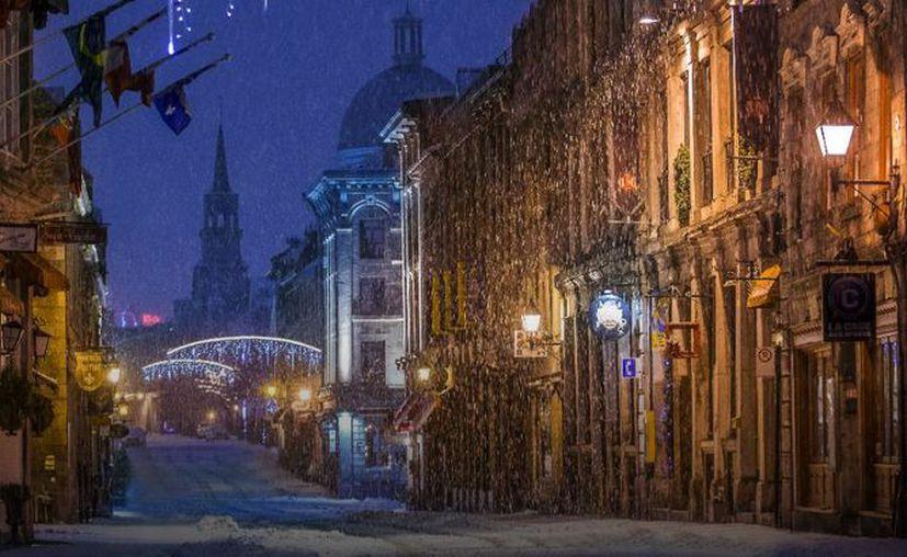 Si quieres pasar unas vacaciones 100% navideñas, Montreal es la ciudad que buscas. (Tourisme Montréal)