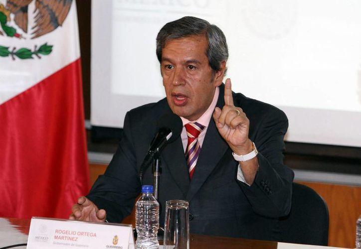 Rogelio Ortega Martínez se convirtió hace unos días en gobernador interino de Guerrero, tras la salida de Ángel Aguirre. (Foto de archivo de Notimex)