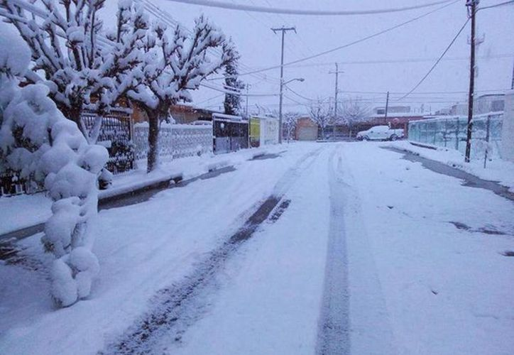 Se esperan temperaturas de -5 grados en el norte del país, especialmente en Chihuahua y Coahuila. (Notimex)