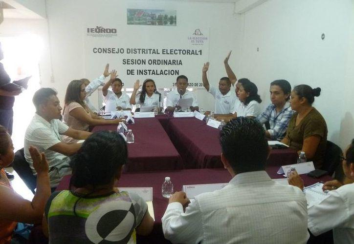 Eligen a presidenta de Consejo Distrital en Lázaro Cárdenas. (Raúl Balam/SIPSE)