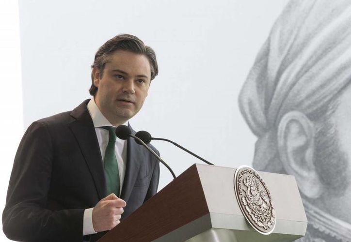 Aurelio Nuño, vocero de la Presidencia, llamó a luchar contra 'los verdaderos enemigos de México'. (Presidencia)