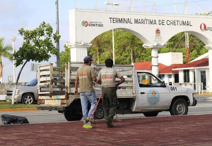 Entre el paquete de proyectos que presentó el gobierno municipal othonense se encuentran obras de mejoramiento urbano. (Harold Alcocer/SIPSE)