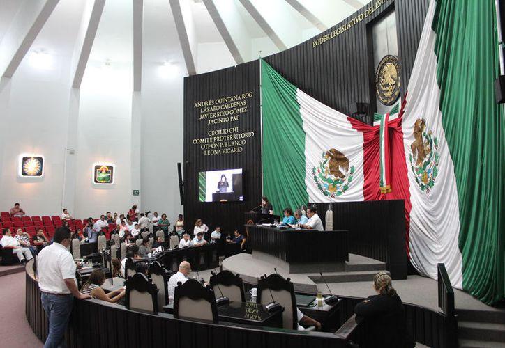 La XV Legislatura dio entrada a la iniciativa del Ejecutivo y otra del presidente de la Gran Comisión. (Joel Zamora/SIPSE)