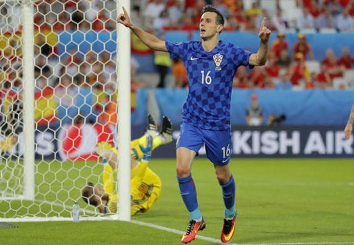 Si no hubiera hecho su show, Nicola Kalinic podría estar disfrutando del momento más dulce en la historia de la Selección de Croacia (Foto: eldesmarque.com)