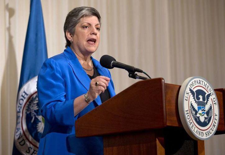 Janet Napolitano fue tratada con éxito por un cáncer de mama. (AP/Carolyn Kaster)