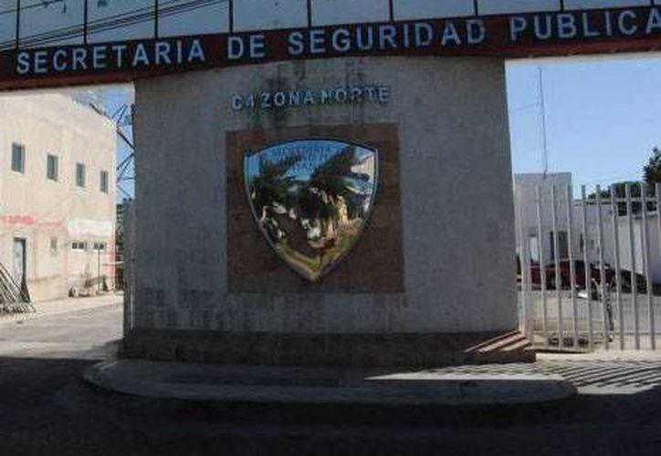 El detenido fue trasladado a las instalaciones de la Secretaría Municipal de Seguridad Pública y Tránsito. (Redacción/SIPSE)