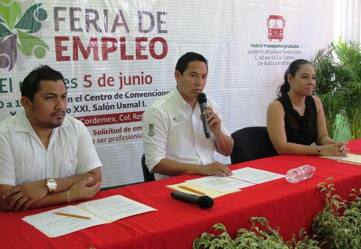 Las personas interesadas en inscribirse pueden hacerlo a partir de este día a través de las páginas: ferias.empleo.gob.mx y www.empleo.gob.mx.  (SIPSE)