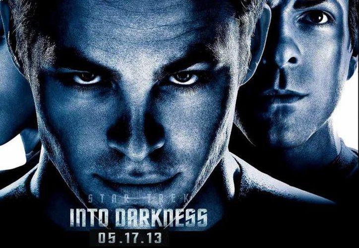 "La secuela de ""Star Trek"" arrebató el primer sitio de las taquillas a ""Iron Man 3"". (Internet)"