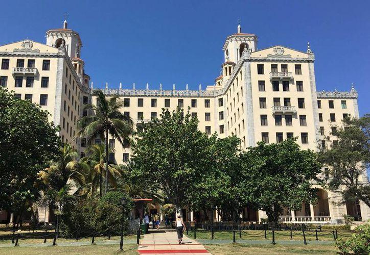 El Hotel Nacional se encuentra en la costa de Punta Brava en la loma de Tanganana de La Habana. (Notimex)