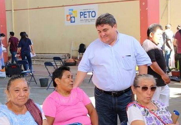 """La gestión de Jaime Hernández Santos (en la imagen) fue calificada como la """"peor de la historia"""" de Peto. (Foto: Milenio Novedades)"""