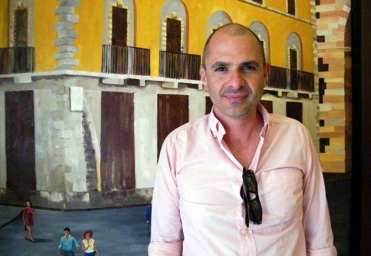 El director Joaquín Rodríguez habló de la realización de la película. (Milenio Novedades)