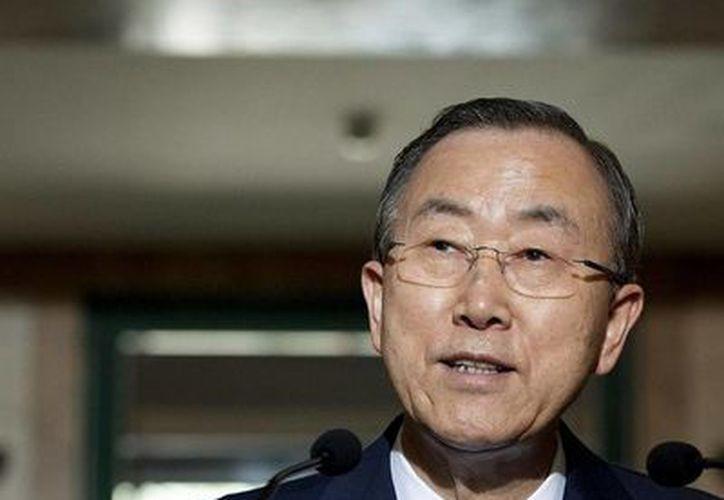 La ONU envió una petición formal a Bashar al-Assad para que autorice la investigación. (Notimex)