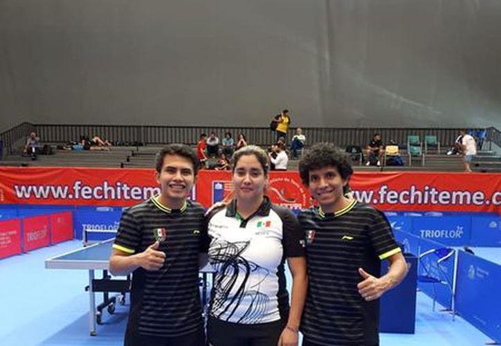 Los yucatecos Ricardo Villa y Miguel Lara son parte del equipo mexicano que está triunfando en Panamericanos. (Foto:Milenio Novedades)