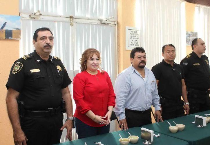 El encuentro fortalece la relación entre la SSP y la Fiscalía General. (Milenio Novedades)