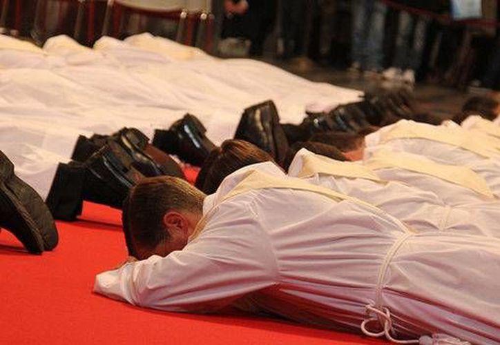 En los últimos cinco años la cantidad de miembros de la congregación ha ido disminuyendo en todos los niveles. (teinteresa.es)