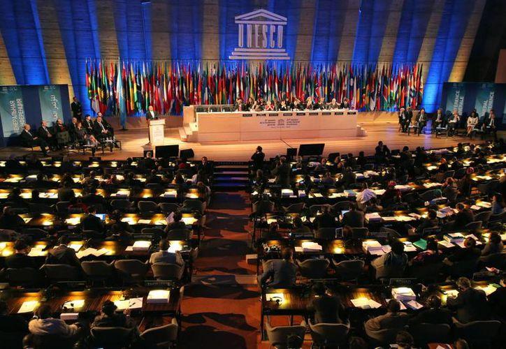 Foto del miércoles, 6 de noviembre del 2013 de la 37ma sesión de la Conferencia General de la Unesco en París. (Agencias)