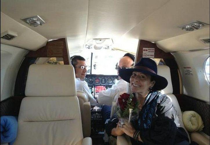 La producción de la 'Reina de corazones' salió a la venta en la Unión Americana el pasado 29 de enero. (@Al3jandraGuzman)