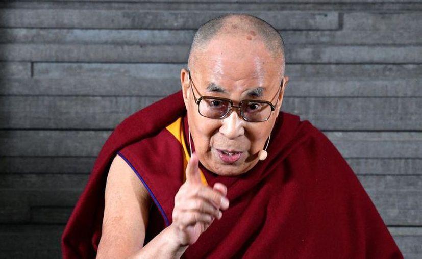 """""""Recibir a los inmigrantes, ayudarlos y educarlos es positivo"""", afirmó el líder espiritual budista. (Internet)"""